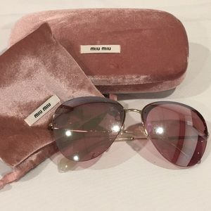 Miu Miu SMU53P Sunglasses